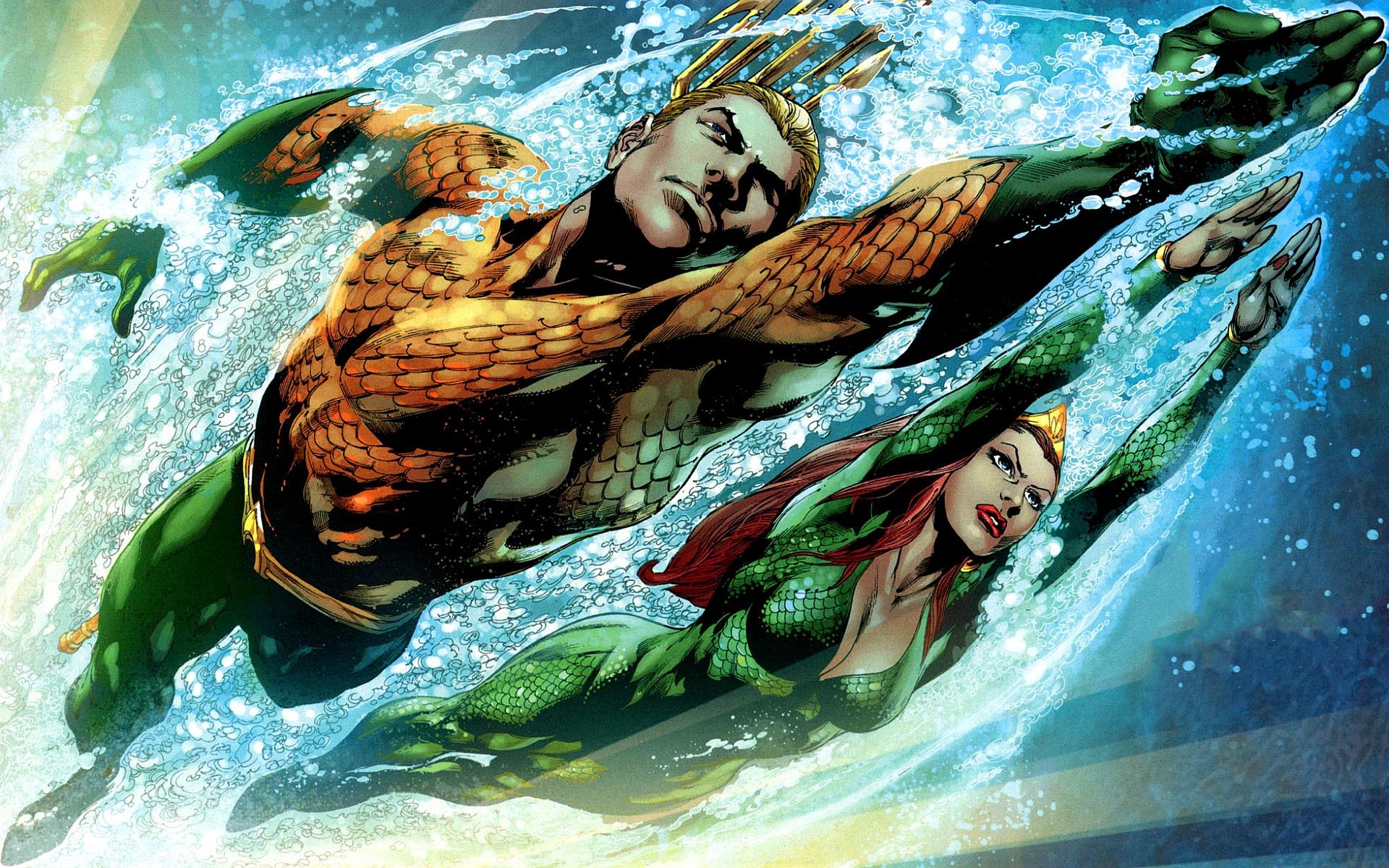 Resultado de imagem para aquaman new 52 wallpaper