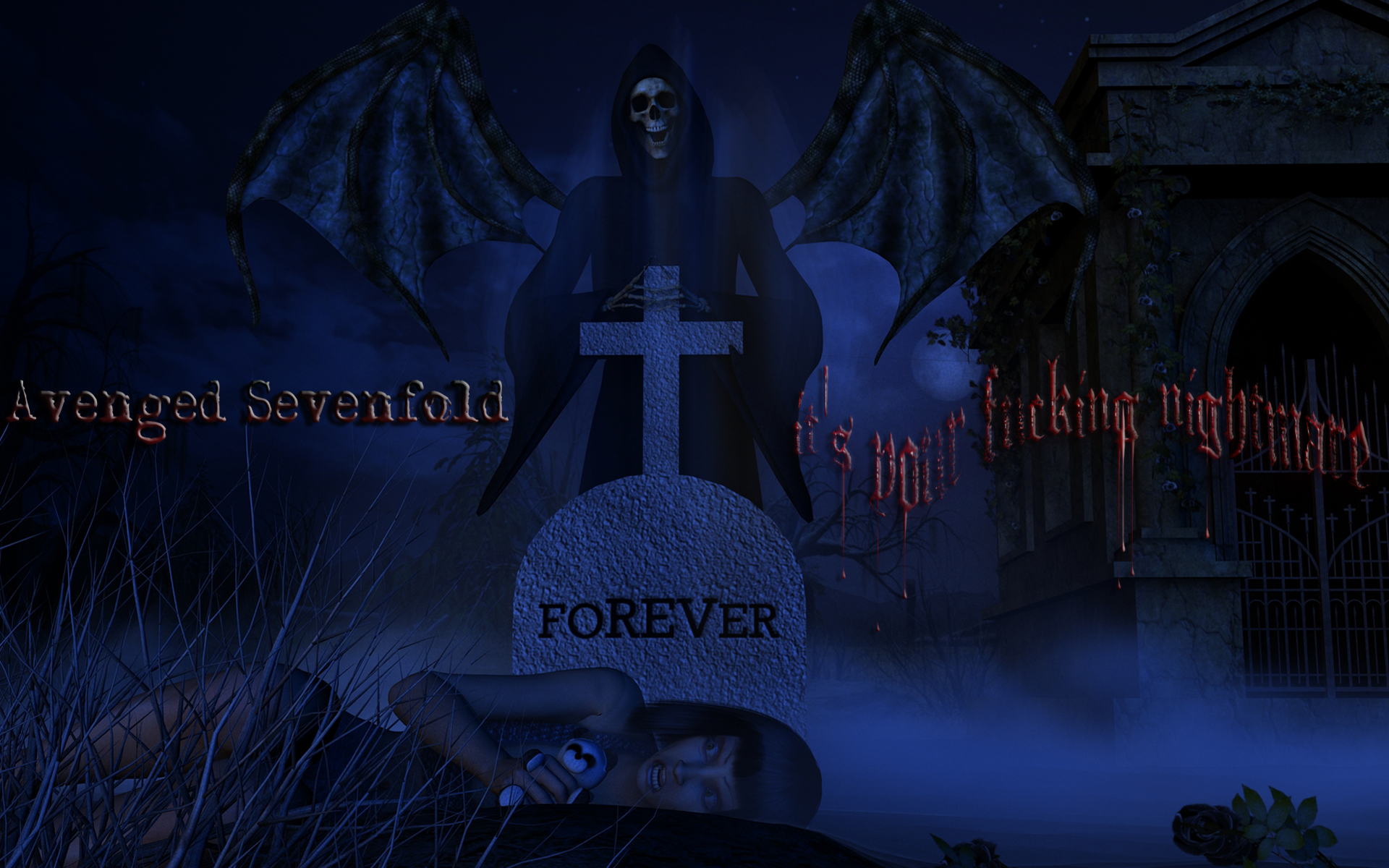 Avenged Sevenfold HD Wallpaper Background Image