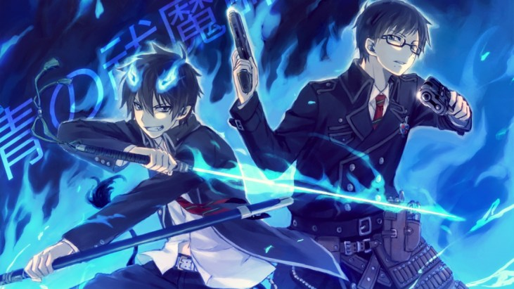Bilderesultat for blue exorcist