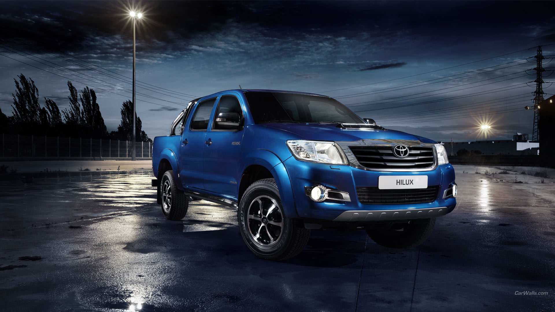 Toyota Hilux Full HD Wallpaper And Background Image