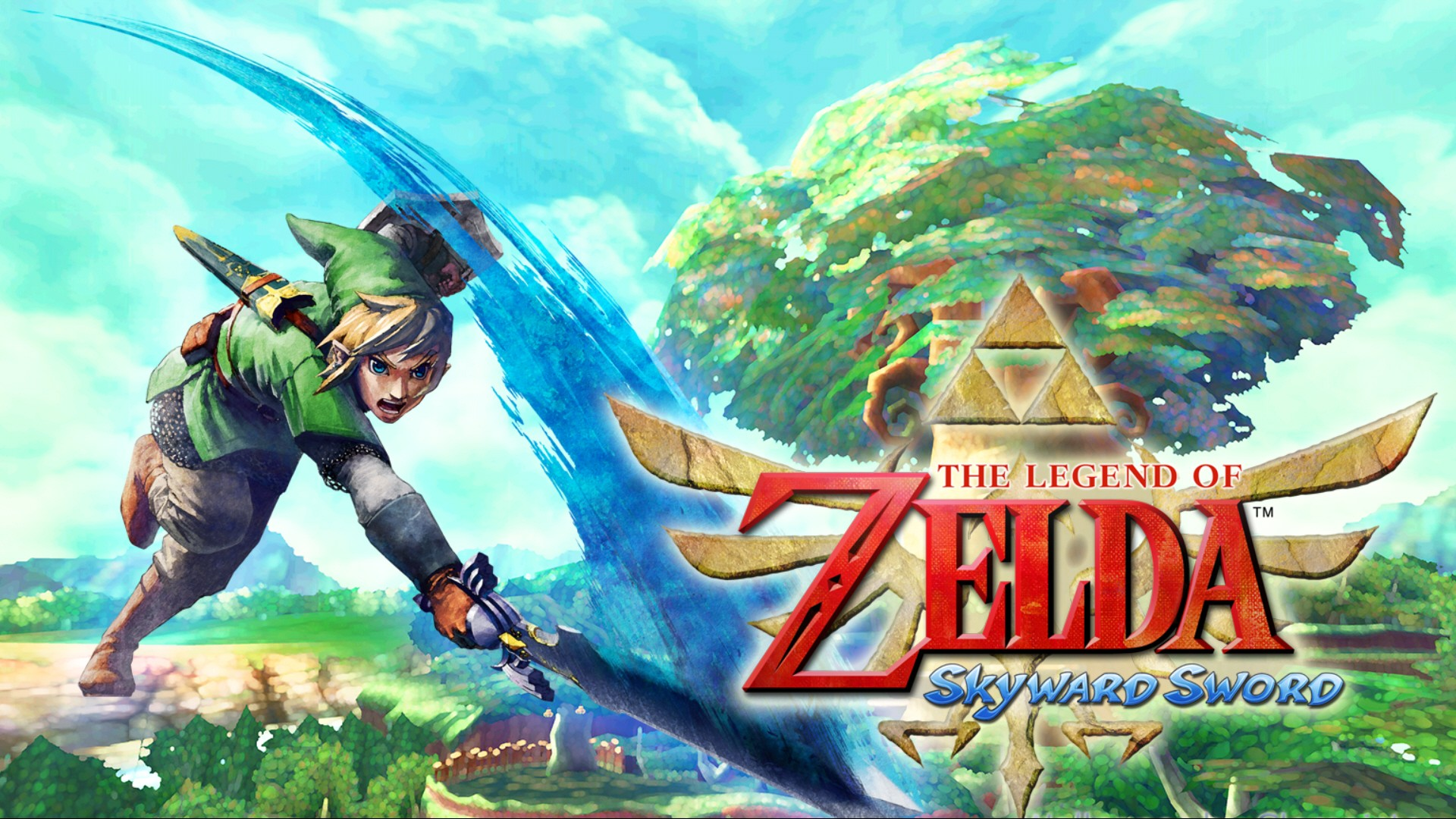 The Legend Of Zelda Skyward Sword HD Wallpaper