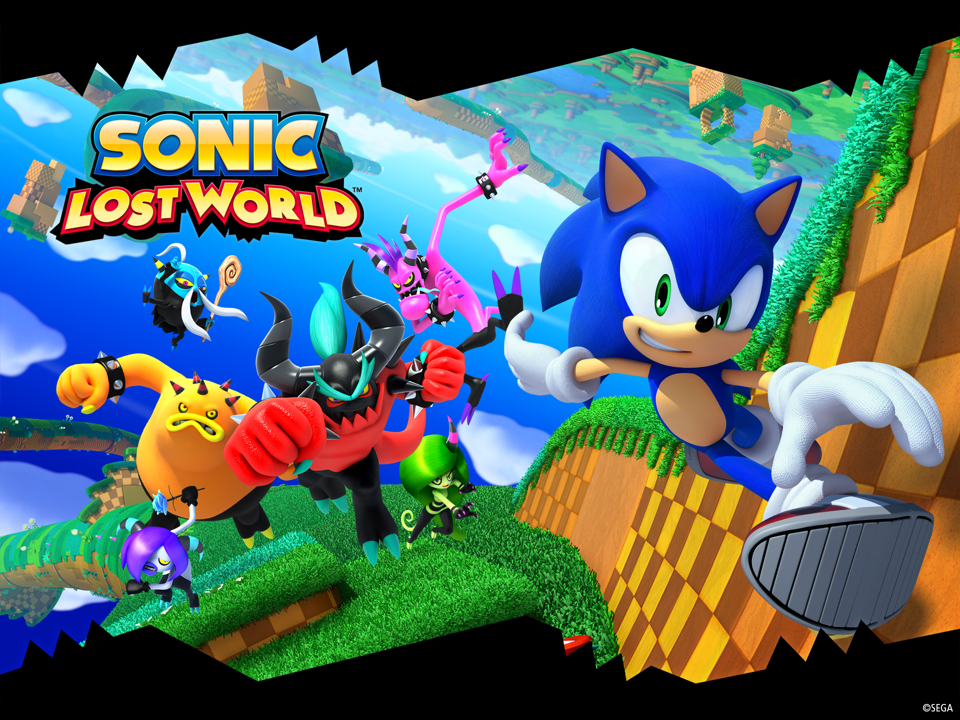 Wallpapers Hd Sonic World Lost