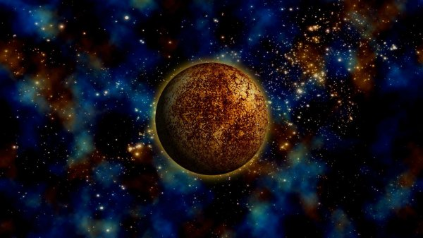 Gold Planet HD Wallpaper | Background Image | 1920x1080 ...