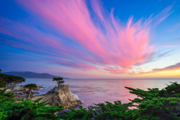 Pebble Beach Sunset 5k Retina Ultra HD Wallpaper ...