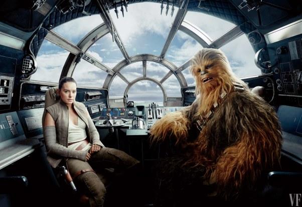 Risultati immagini per rey chewbacca