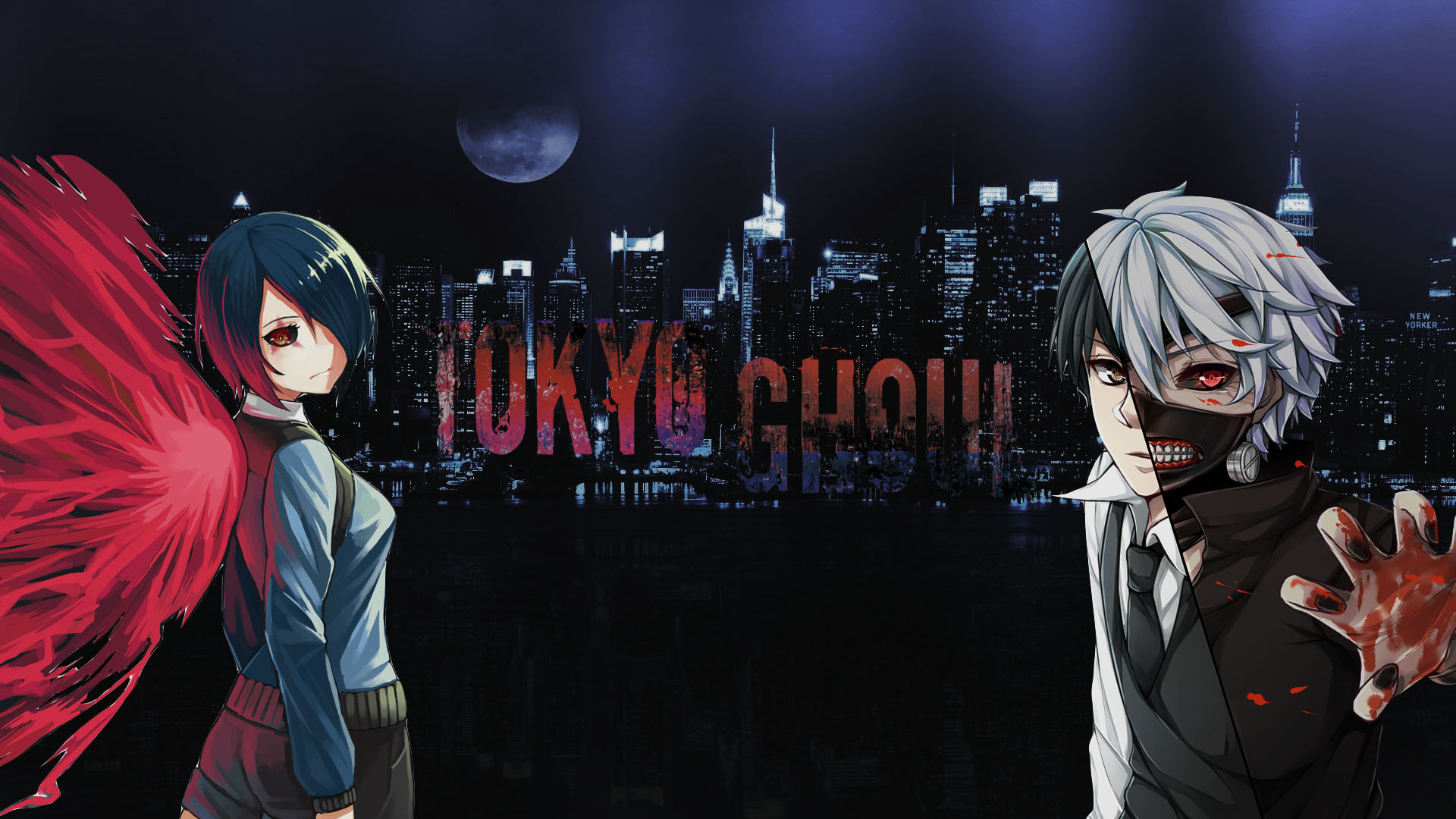 Tōkyō gūru) is a japanese darkish fantasy manga collection written and illustrated through sui. Touka & Kaneki Wallpaper HD Wallpaper | Background Image ...