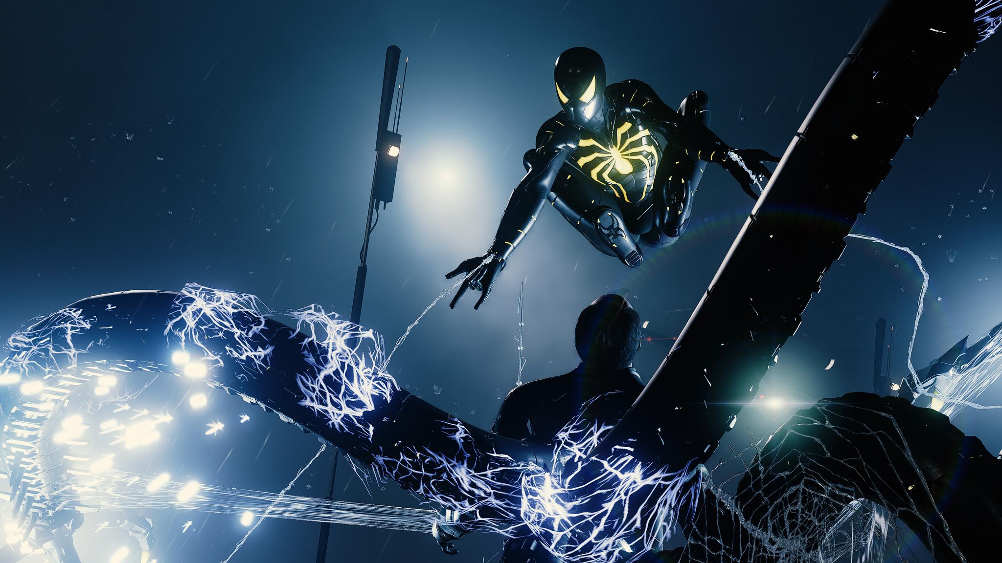 Anti Ock Suit Spider Man