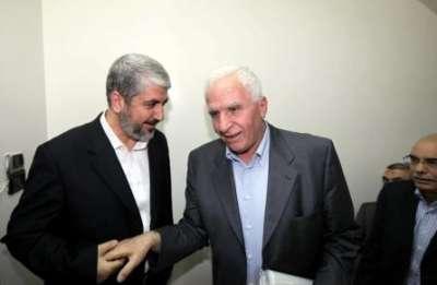 """حكومة الوحدة على الأبواب : رئيسها بيد الرئيس والوزراء تحت لواء م.ت.ف - """"الانتخابات"""" اقتربت وحل جزئي لموظفي غزة"""