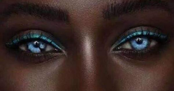 هل رأيت صاحبة أجمل عيون في العالم دنيا الوطن