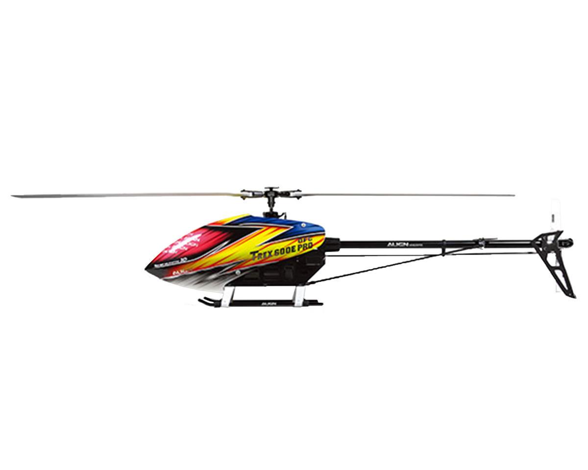 Align T Rex 600e Pro Dfc Super Combo Helicopter Kit