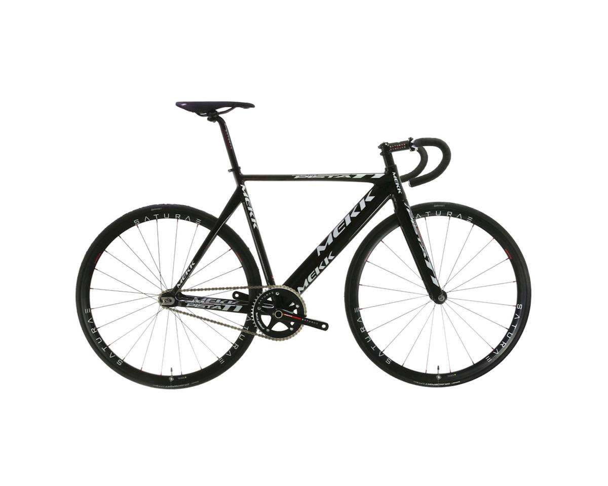 Mekk Bicycles Mekk Pista T1 Track Bike Black Mk Pst1 58 Bk P