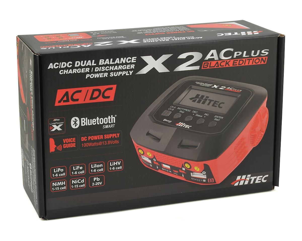 Hitec X2 Ac Plus Black Edition Ac Dc Multi Charger 6s 10a