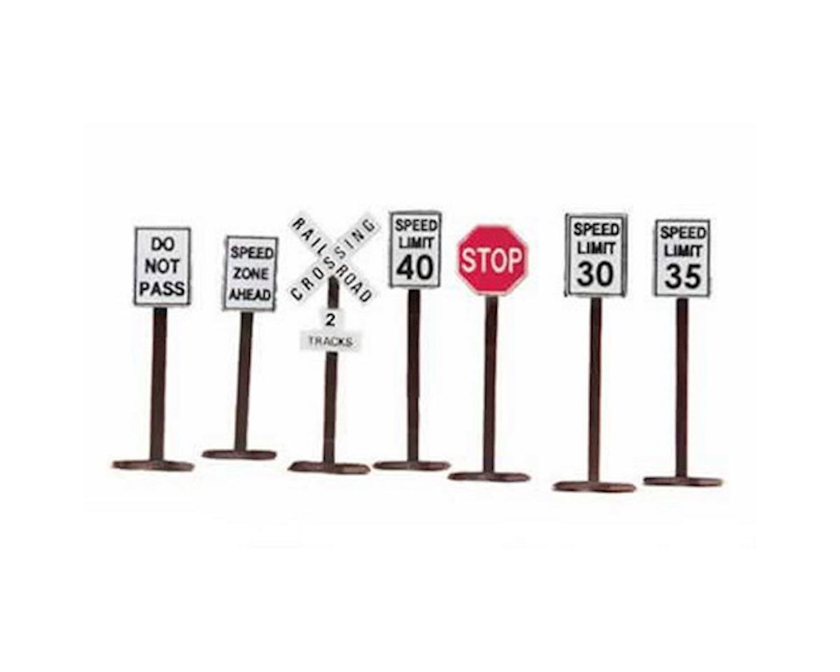 O Road Sign Set Mth Toys Amp Hobbies