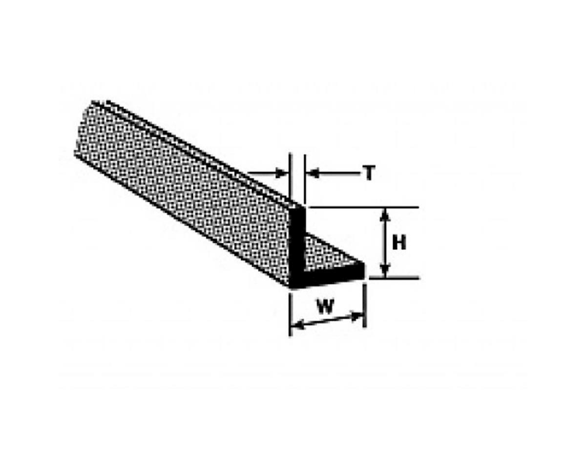 Plastruct A 1 Angle 3 64 10 Pls