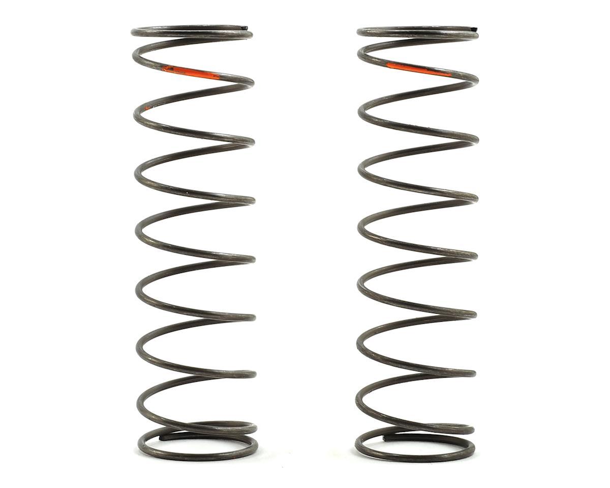 Team Losi Racing 16mm Evo Rear Shock Spring Set Orange