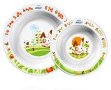 Toddler Two-Bowl Set