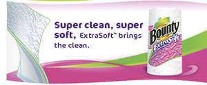 Super clean, super soft, ExtraSoft(TM) brings the clean.