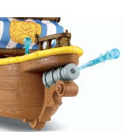 Fisher-Price Disney Jake and the Never Land Pirates Jake's Musical Pirate Ship Bucky