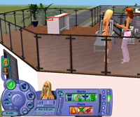 Sims in live mode