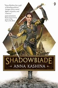 Shadowblade by Anna Kashina book cover