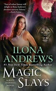 Magic Slays by Ilona Andrews book cover