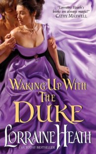 Waking Up With the Duke by Lorraine Heath book cover