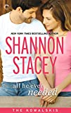 Book - All He Ever Needed - Shannon Stacey
