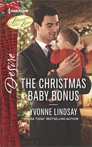 The Christmas Baby Bonus by Yvonne Lindsay book cover