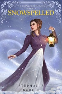 Snowspelled by Stephanie Burgis book cover