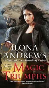 Magic Triumphs by Ilona Andrews book cover