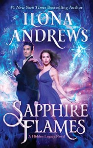 Sapphire Flames by Ilona Andrews book cover
