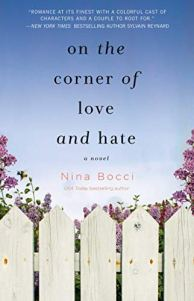 On the Corner of Love and Hate by Nina Bocci book cover