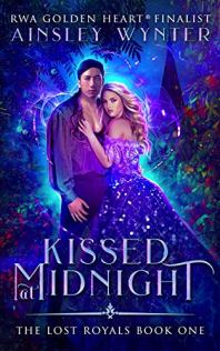 Kissed at Midnight by Ainsley Wynter Book Cover