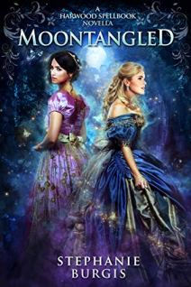 Moontangled by Stephanie Burgis book cover