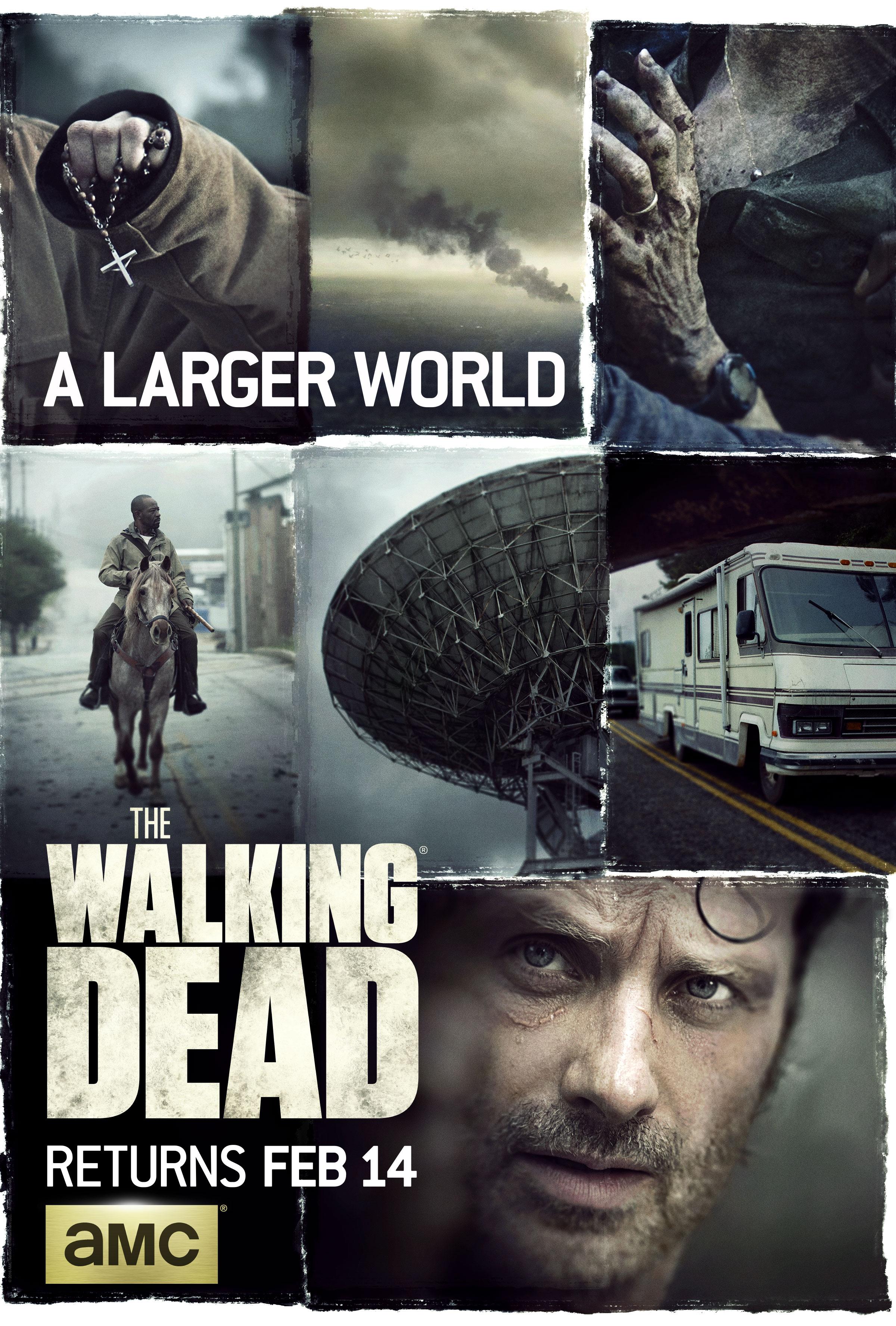 """Résultat de recherche d'images pour """"the walking dead season 6 poster"""""""