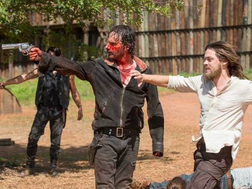 Image result for rick and jesus the walking dead