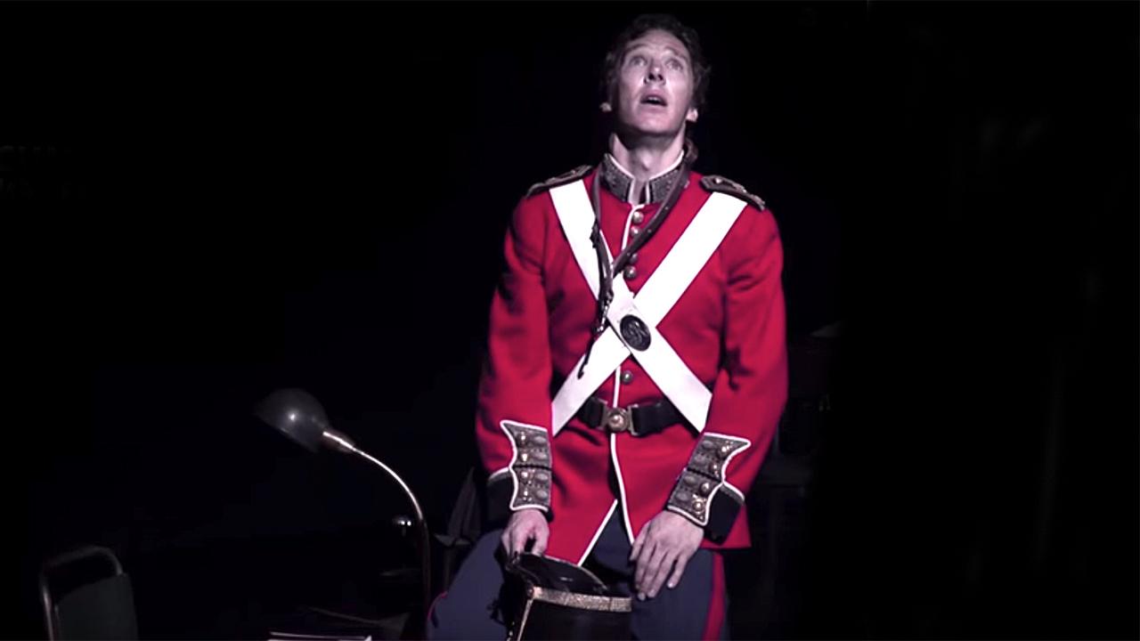 Benedict Cumberbatch as Hamlet (Photo: National Theatre)