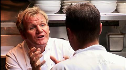 Bazzini Ramsay Kitchen Nightmares Bbc America