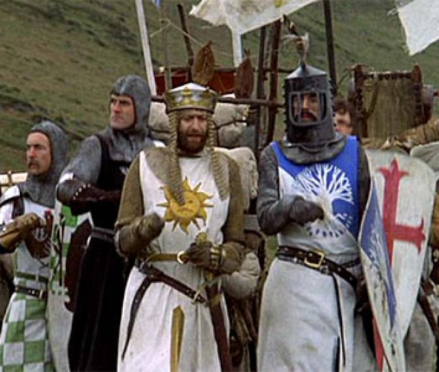 Monty Python And The Holy Grail Good Knights