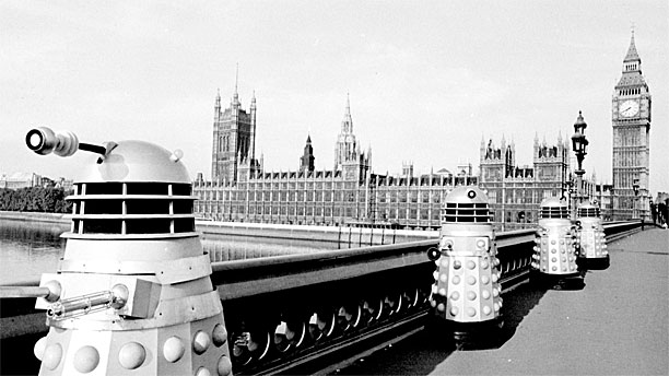 Image result for Daleks westminster bridge