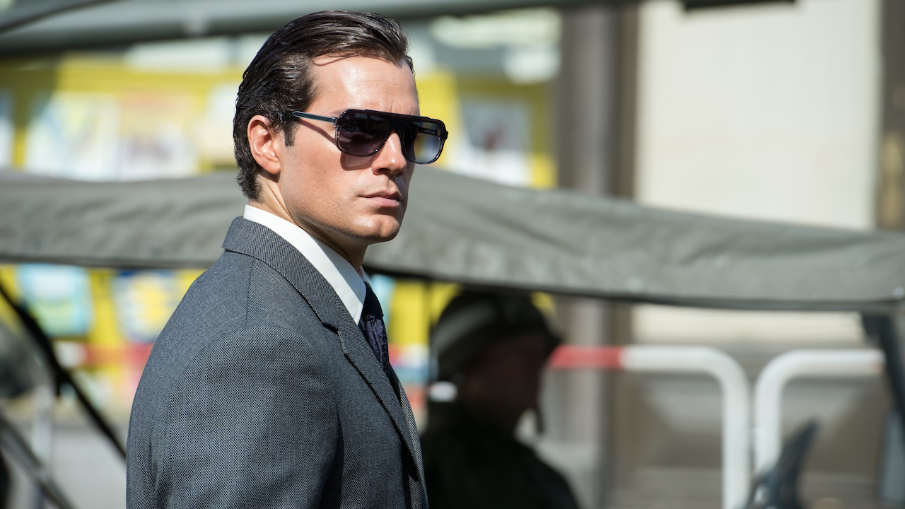Image result for henry cavill man from uncle