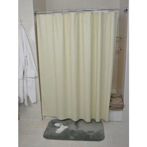 kartri san crepe shower curtain beige 72 x 72