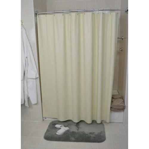 kartri san suede pebbled shower curtain beige 36 x 72