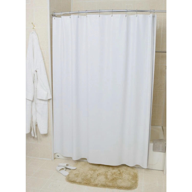 sanford shower curtain liner vinyl white 36 x 72