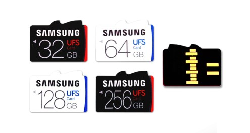 Samsung Release Universal Flash Storage (UFS) Removable Memory Card upto 256-GB