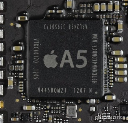 New A5 chip from Apple