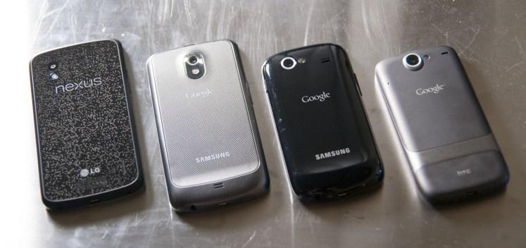 Découvrez la famille des Nexus de Google