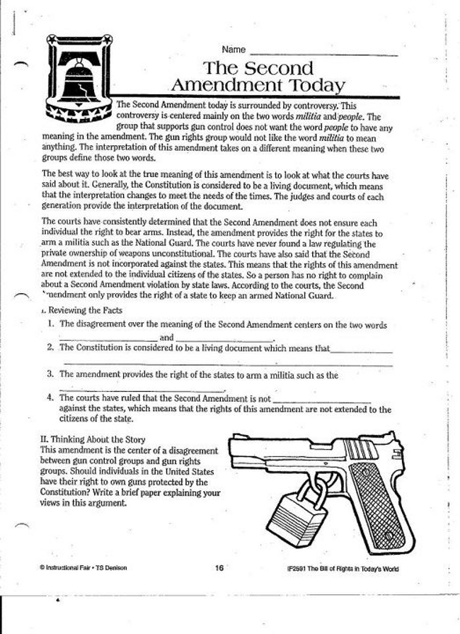 What Are Schools Teaching About The Second Amendment