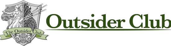 Outsider Club Logo - Because You'll Never Be On The Inside - Image Copyright AngelPub.Com