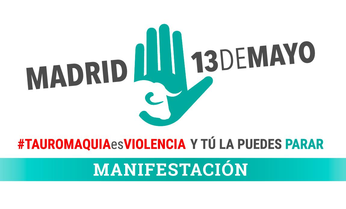 ¡Súmate a la marcha antitaurina más grande de la historia en Madrid!